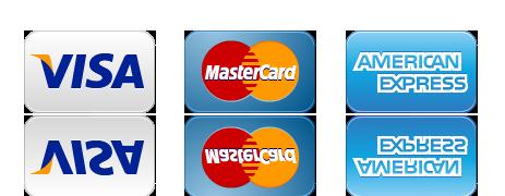 Kamin Studio - Opcije plaćanja kreditne kartice
