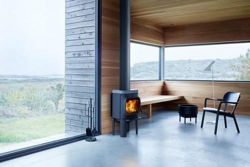 Jøtul 105 LL peć na drva - dimnjak gore
