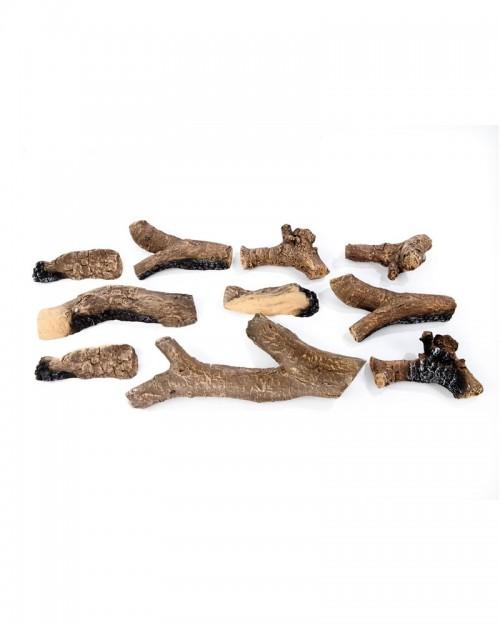 Dodaci za kamine Ruby Fires keramičko drvo