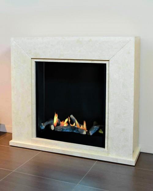 Ruby Fires Nero električni kamin biokamin-