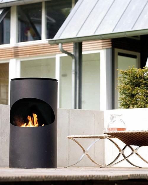 Silo Ruby Fires električni kamin biokamin